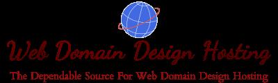 Web Domain Design Hosting